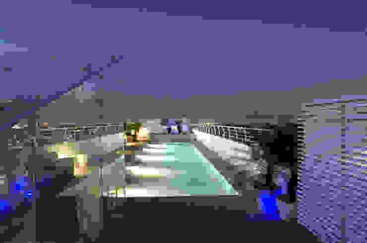 Skyview Polanco Piscinas de ARCO Arquitectura Contemporánea
