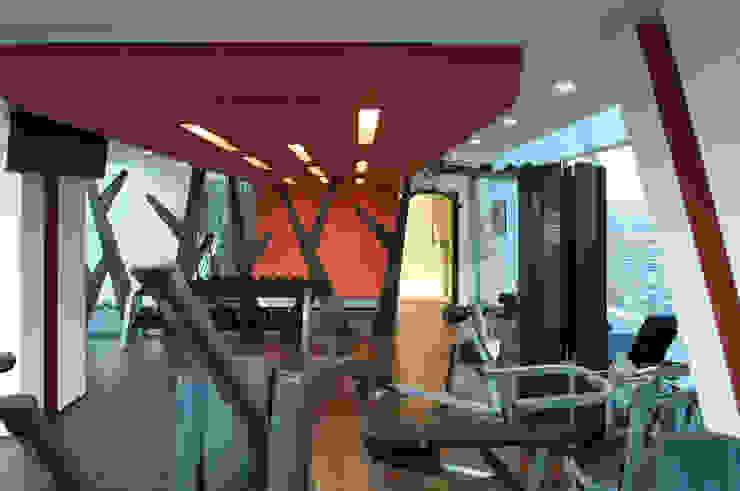 Skyview Polanco Salle de sport par ARCO Arquitectura Contemporánea