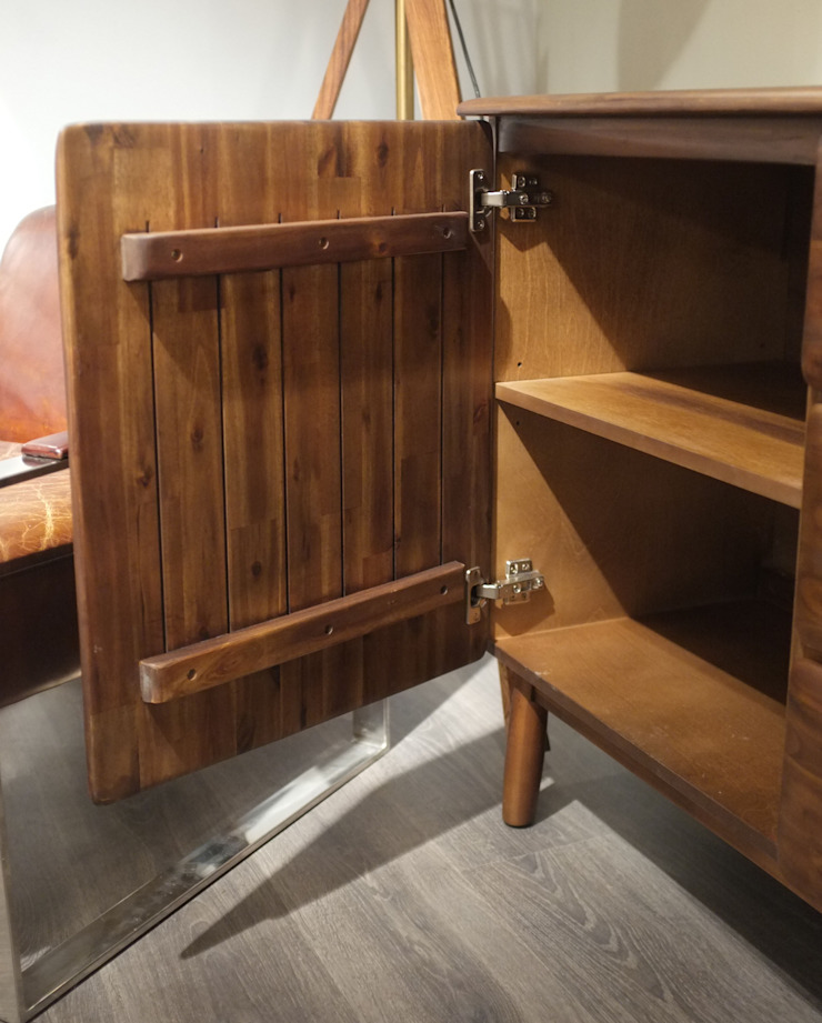 Mid Century Style Walnut Sideboard by Cambrewood