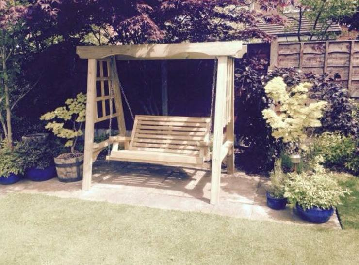 Garden  by Churnet Valley Garden Furniture