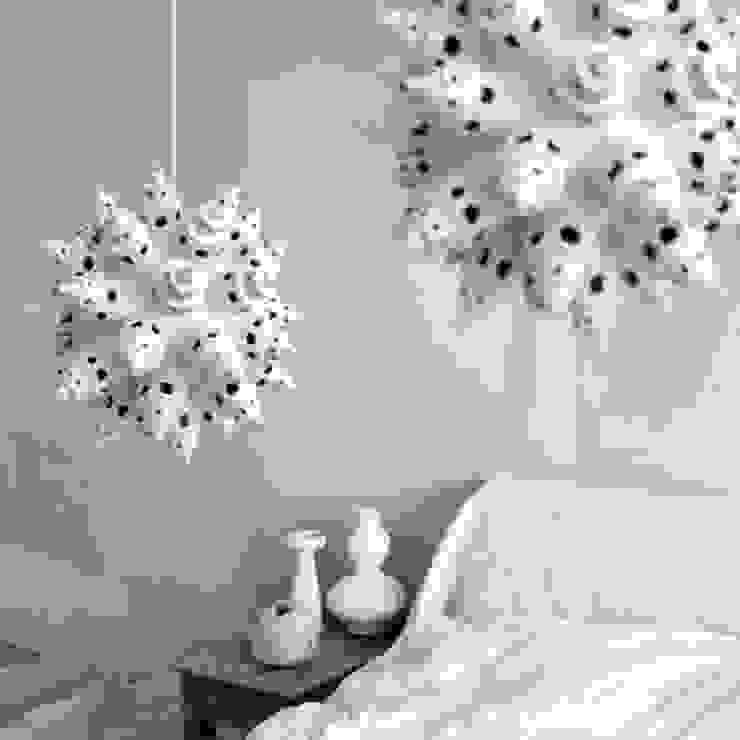 Lichtsculptuur White Towers van The Paper Moon Factory Rustiek & Brocante