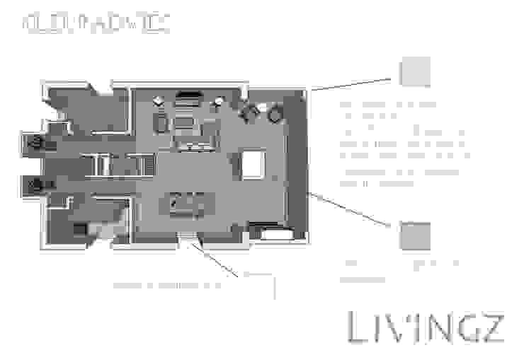 Kleuradvies Industriële woonkamers van Livingz interieur Industrieel