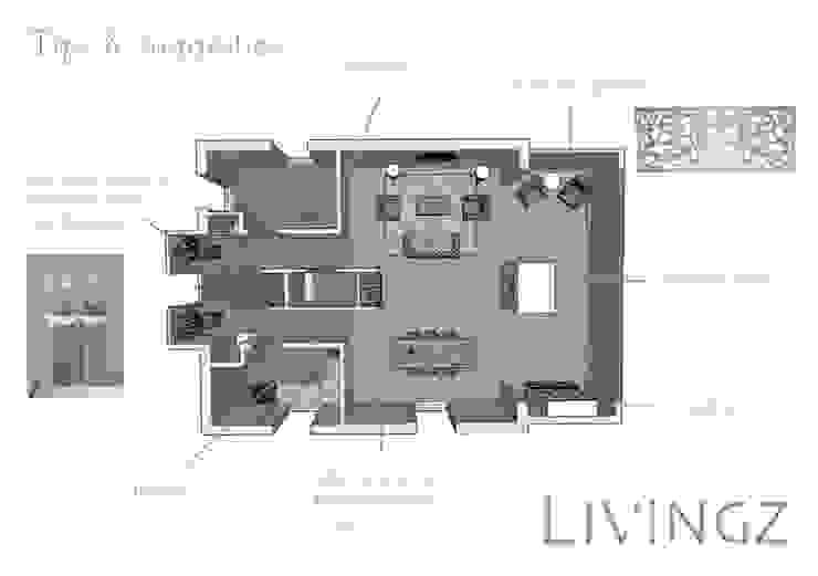 Tips & suggesties Industriële woonkamers van Livingz interieur Industrieel