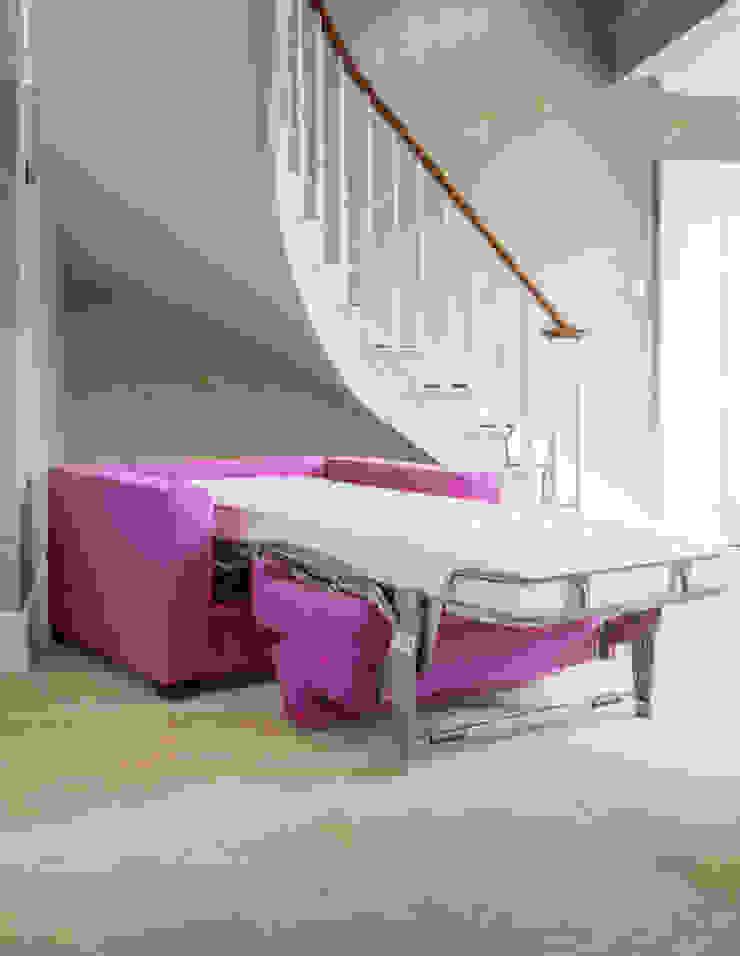 Sleigh Bed Low Moderne Wohnzimmer von THE STORAGE BED Modern