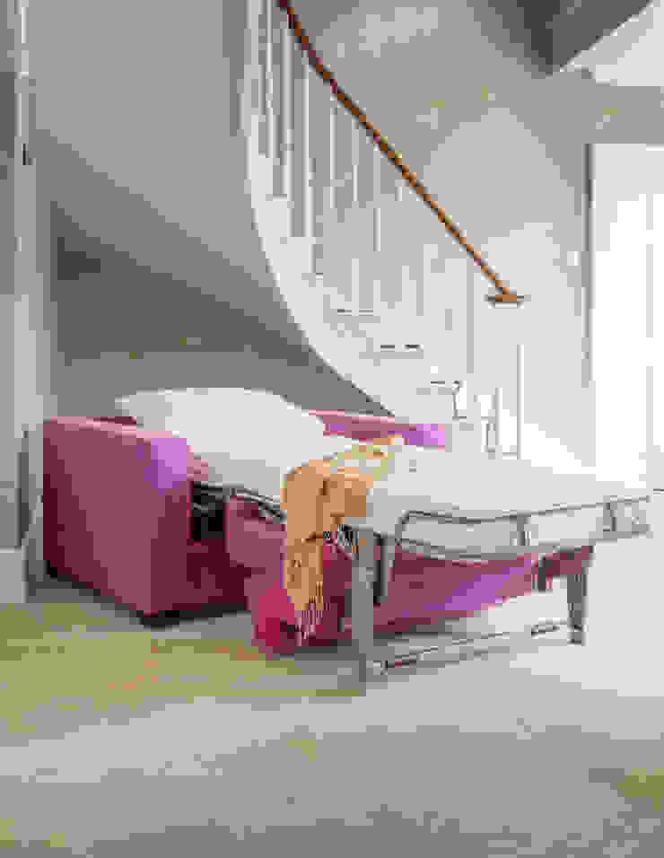 Sleigh Bed Low Moderne Schlafzimmer von THE STORAGE BED Modern