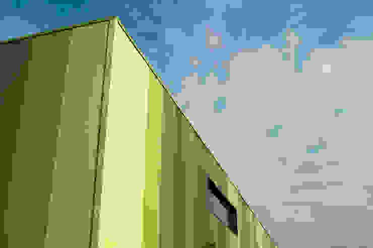 Green Unlimited - Maschinenhalle mit Büro in Lampertheim-Hüttenfeld Moderne Bürogebäude von Helwig Haus und Raum Planungs GmbH Modern
