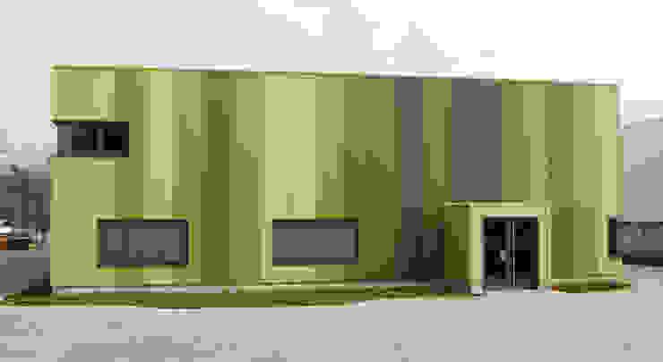 Green Unlimited – Maschinenhalle mit Büro in Lampertheim-Hüttenfeld Moderne Bürogebäude von Helwig Haus und Raum Planungs GmbH Modern