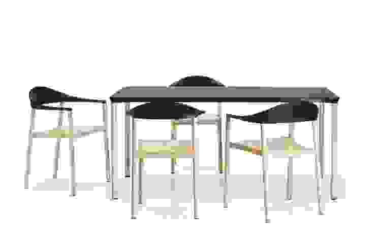 MONZA CHAIR / ARMCHAIR / TABLE di Plank