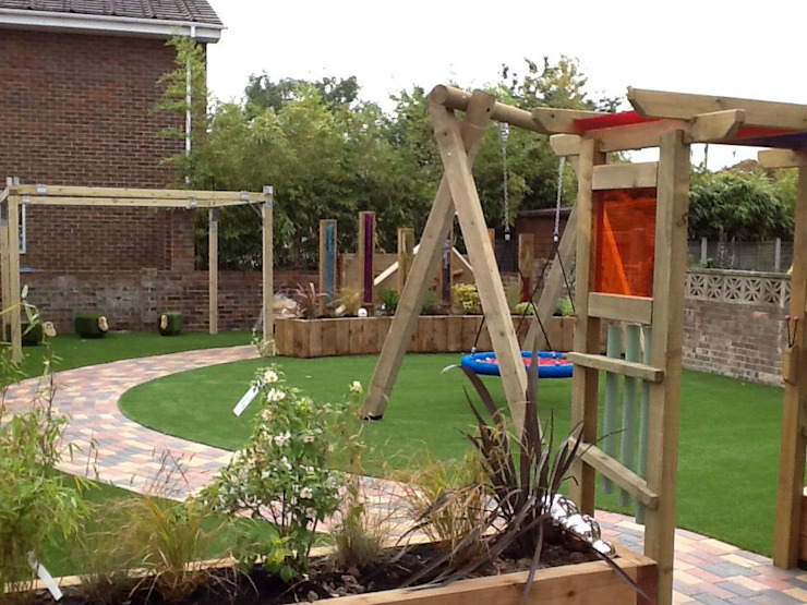 Garden playground Timotay Playscapes Garden Swings & play sets