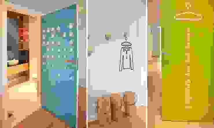 Scandinavian style corridor, hallway& stairs by NISZA DESIGN Scandinavian