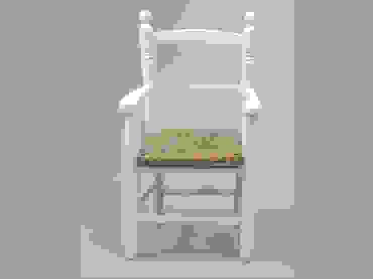 Silla infantil blanca asiento enea de MABA ONLINE Rural