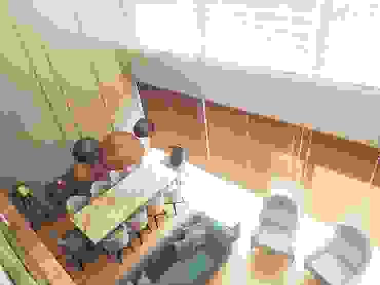 Visage Home Style – A project in İzmir, Turkiye.  - İzmir'de uygulaması bize ait bir projenin salonundan bir kare.:  tarz Oturma Odası,