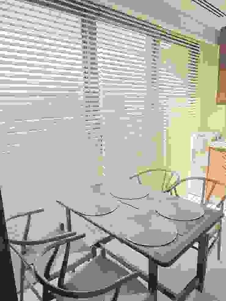A project in İzmir, Turkiye. (Kitchen) - İzmir'de uygulaması bize ait bir projenin mutfağından bir kare. Modern Yemek Odası Visage Home Style Modern