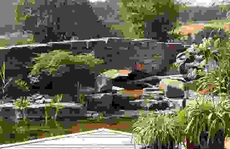 Taman Gaya Mediteran Oleh Gärten für Auge und Seele Mediteran