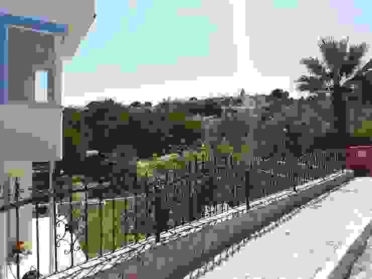 Akdeniz Balkon, Veranda & Teras homify Akdeniz