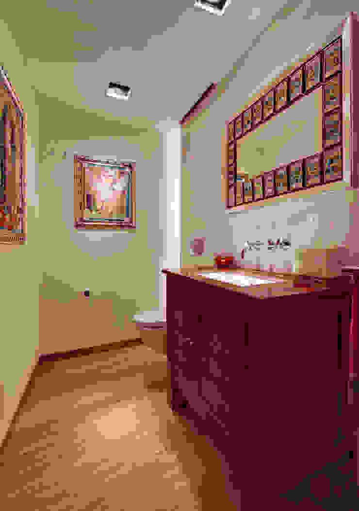 Departamento Polanco 1 Baños modernos de Lopez Duplan Arquitectos Moderno