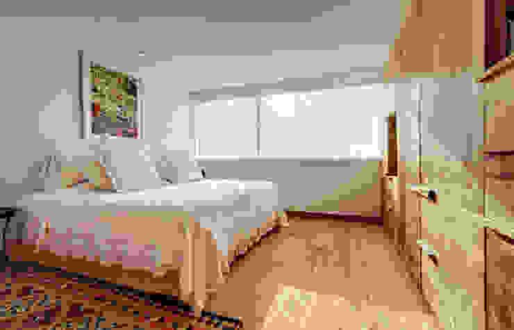 Departamento Polanco 1 Lopez Duplan Arquitectos Phòng ngủ phong cách hiện đại