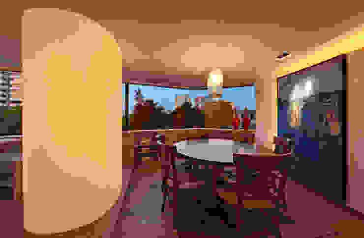 Departamento Polanco 1 Salle à manger moderne par Lopez Duplan Arquitectos Moderne