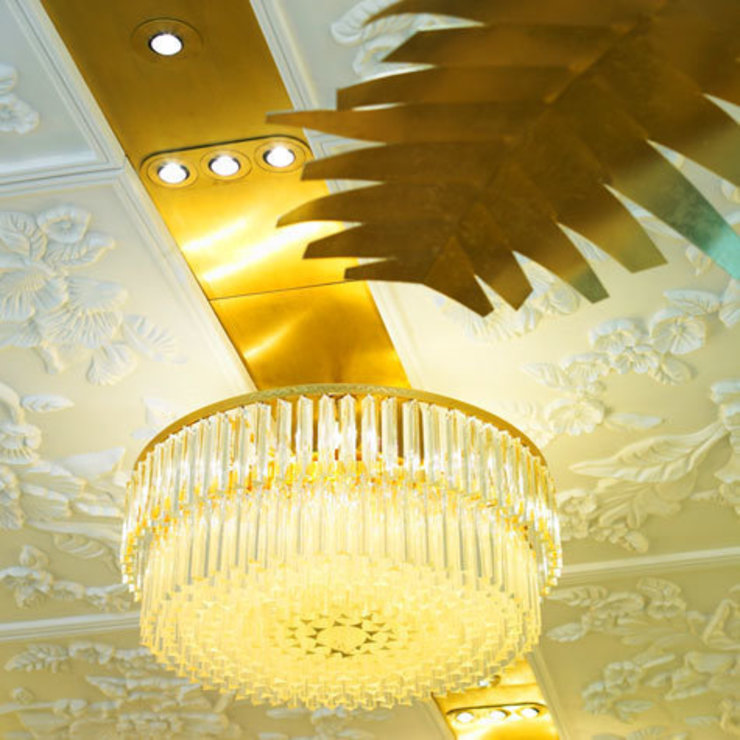Liberty, Decorative relief ceiling panels. Eclectic style commercial spaces by DesignRealisation Eclectic