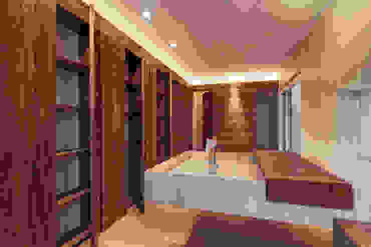 Rancho San Francisco Baños modernos de Lopez Duplan Arquitectos Moderno