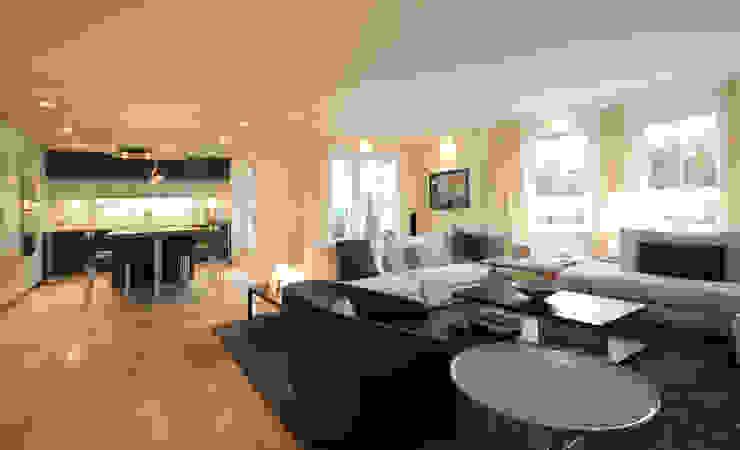 Modern Living Room by eswerderaum Modern