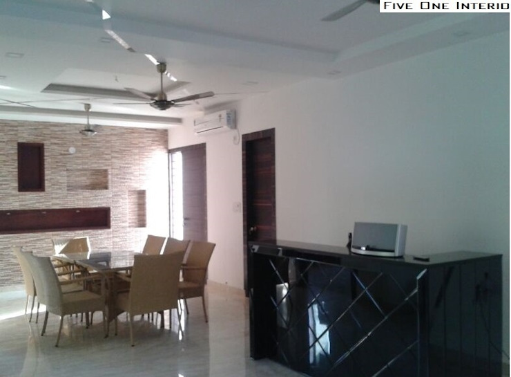 ''Beautiful Modern Appartment'' Asian style houses by Five One Interio Asian