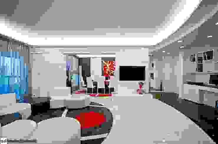 Living room by studiodonizelli, Modern