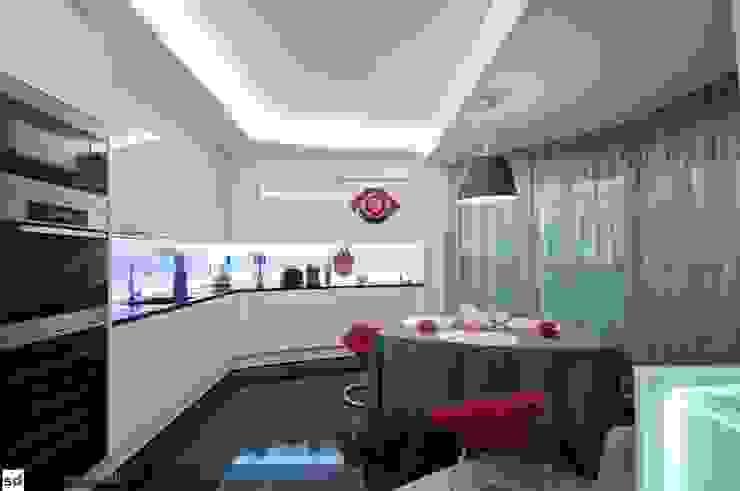 Maison célèbre panneau - cucina Cucina moderna di studiodonizelli Moderno