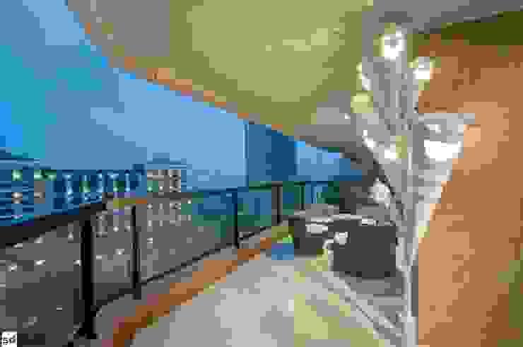 Terrace by studiodonizelli, Modern