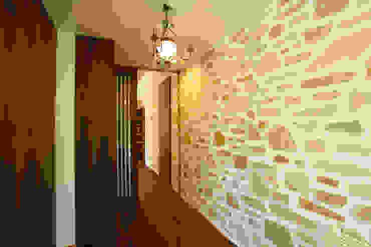 玄関 オリジナルスタイルの 玄関&廊下&階段 の 一級建築士事務所 アトリエ カムイ オリジナル