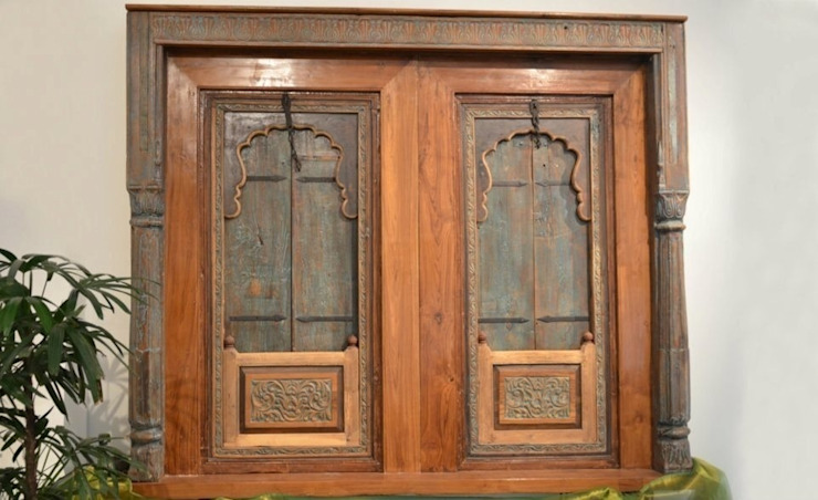 Frames and mirrors: rustic  by Uttara And Adwait Furniture, Rustic