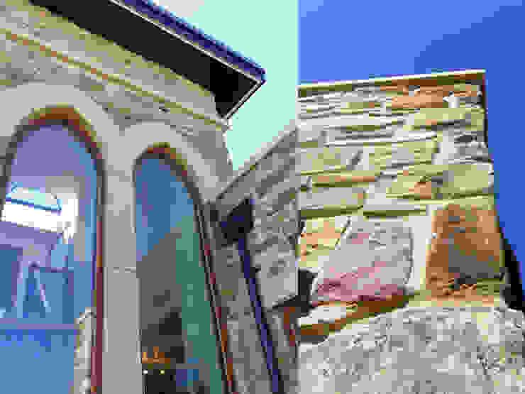 New House in the Greenbelt Moderne Fenster & Türen von Robin Ashley Architects Modern