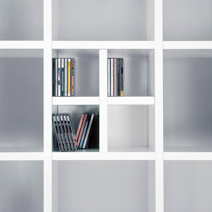cd fach für pappregal von Frank Huster Minimalistisch