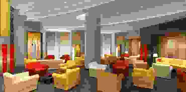 Oak Hotel Lobby di arcHITects srl