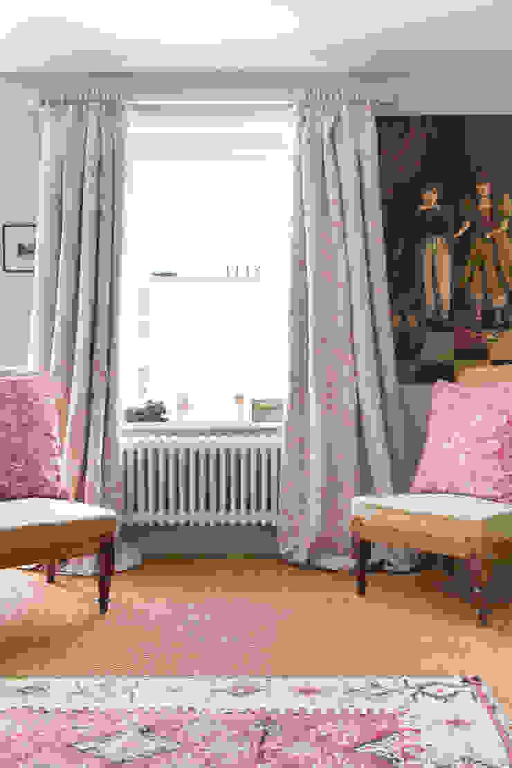 Natural Meggernie Cabbages & Roses Windows & doors Curtains & drapes