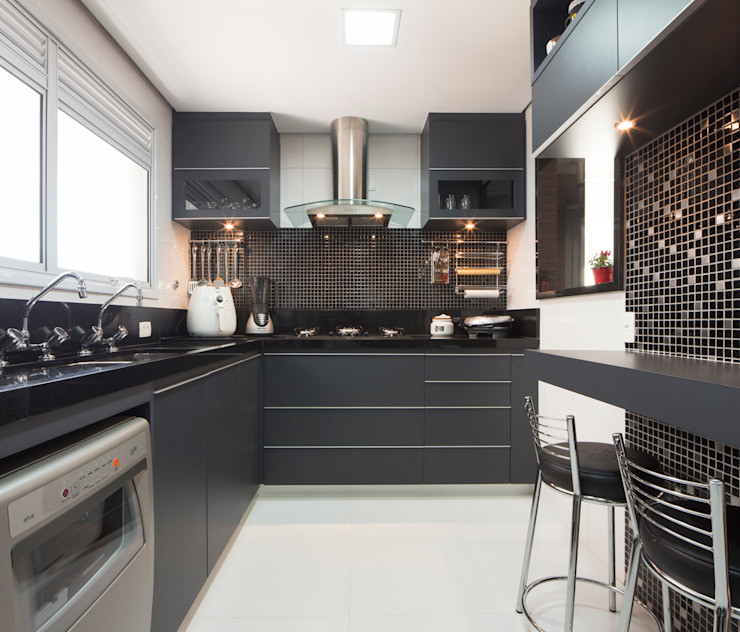 Cozinha Cozinhas ecléticas por ArkDek Eclético