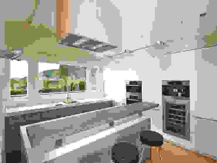 Keuken door Bau-Fritz GmbH & Co. KG,