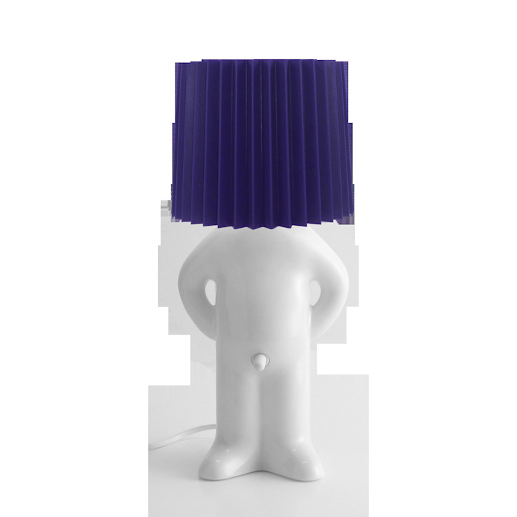 Mr P One One Shy Lamp: modern  by Vale Furnishers, Modern