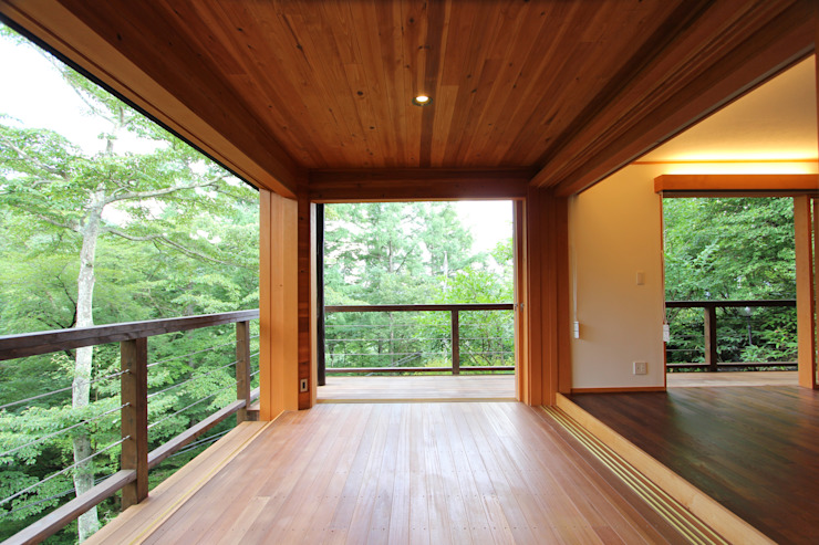アウトリビング オリジナルデザインの テラス の 一級建築士事務所 アトリエ カムイ オリジナル