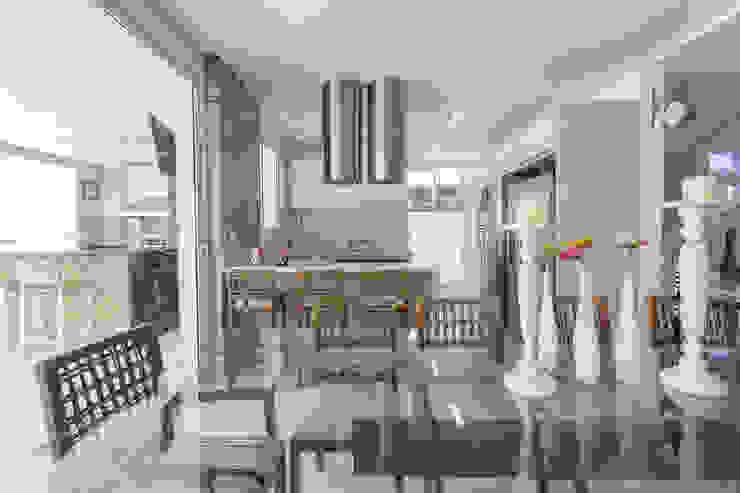 Comedores de estilo moderno de Arquitetura Pini Moderno