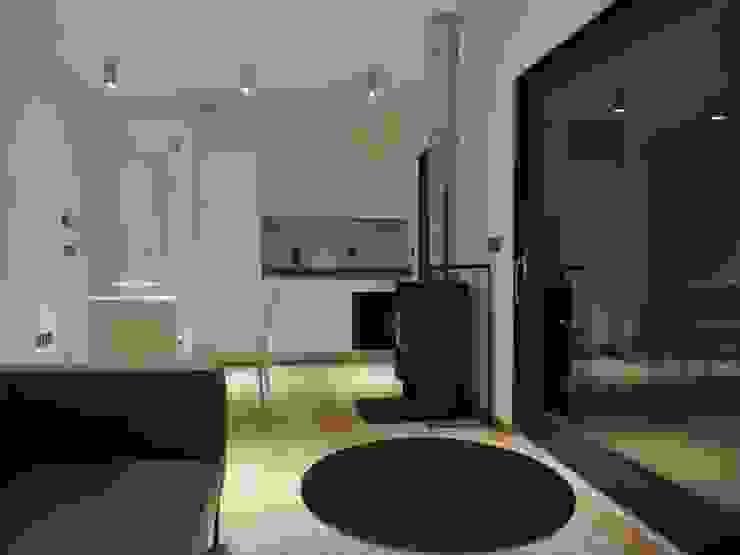 Residenza in Monferrato Soggiorno minimalista di Ecospace Italia srl Minimalista