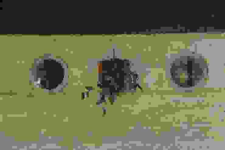 Casa Tapial: Casas de estilo  por MULA.Arquitectos,Rural