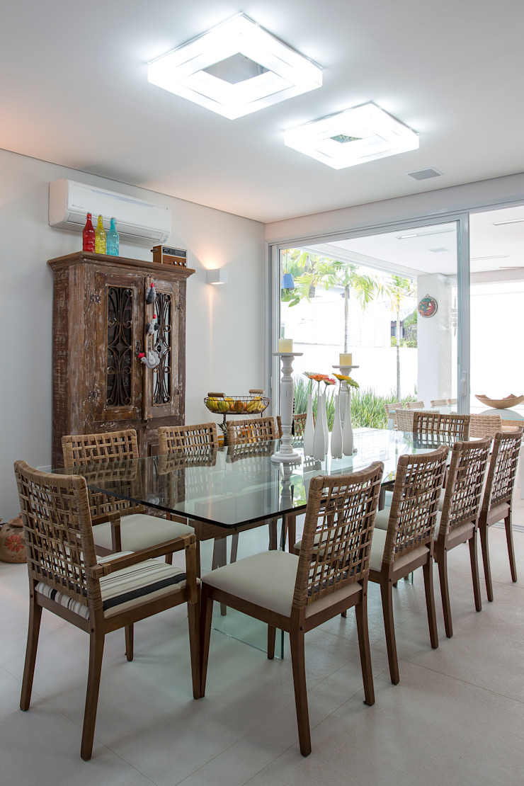 Condomínio Hanga Roa I Salas de jantar modernas por Arquitetura Pini Moderno