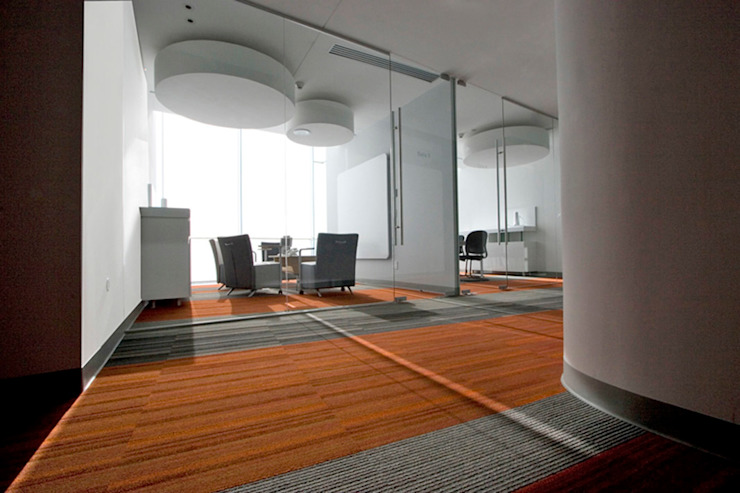Rotoplas Modern Study Room and Home Office by usoarquitectura Modern