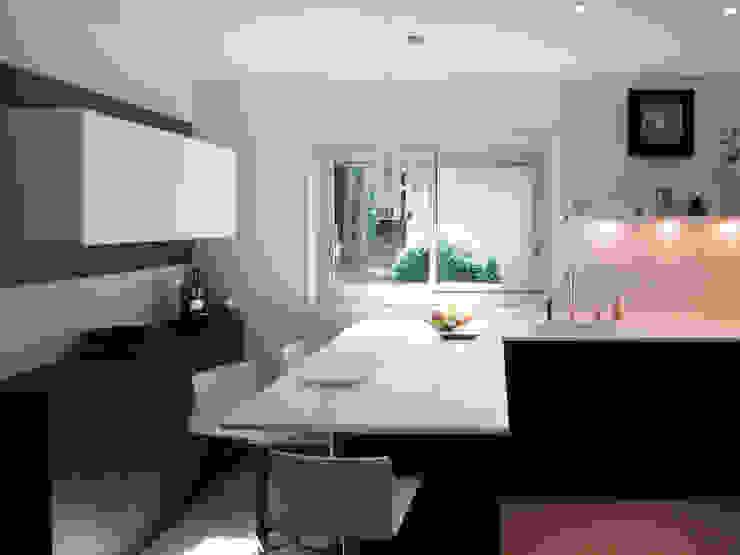 Maison à Saint Vaury Cuisine moderne par Jean-Paul Magy architecte d'intérieur Moderne