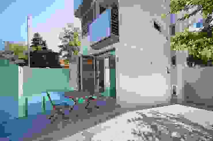 Kolam Renang Modern Oleh JoseJiliberto Estudio de Arquitectura Modern