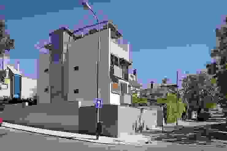 EXTERIOR DE LA VIVIENDA Casas modernas de JoseJiliberto Estudio de Arquitectura Moderno