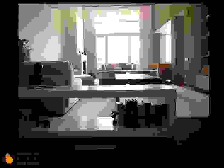 SALON Casas de estilo moderno de gesHAB Interiorismo Moderno