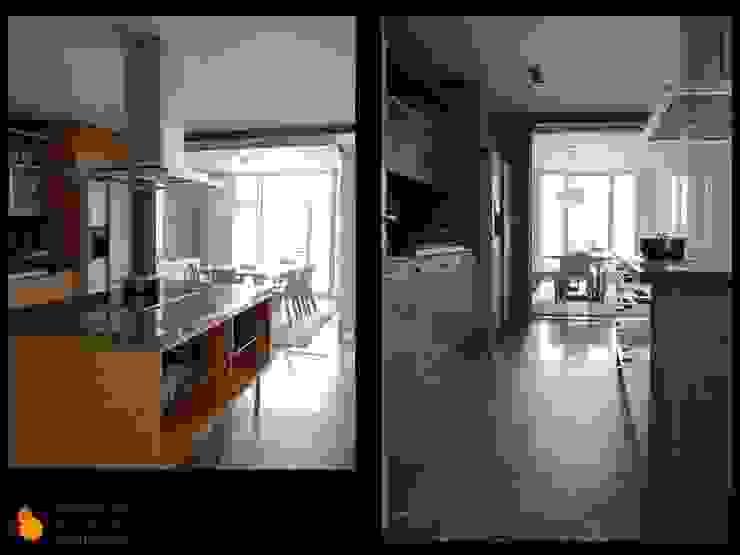 COCINA Casas de estilo moderno de gesHAB Interiorismo Moderno