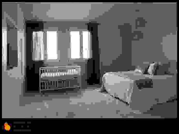 Dormitorio invitados Casas de estilo moderno de gesHAB Interiorismo Moderno